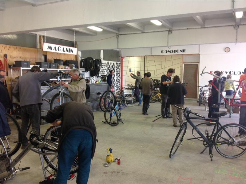 La Maison du Vélo est ouverte « Dérailleurs