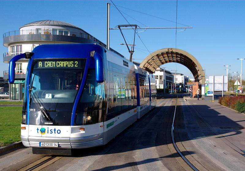 Tramway 224 Caen Notre Contribution 171 D 233 Railleurs