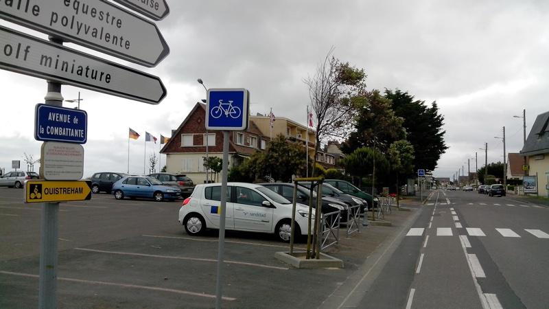 zone de rencontre cyclistes