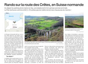 Rando sur la route des crêtes en Suisse normande